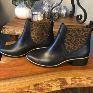 Kate Spade rain boot ankle boots
